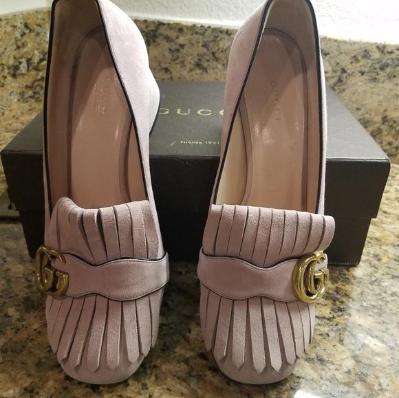 dde43b86893 Gucci marmont shoes.